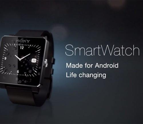 La Smartwatch 2 de Sony : en réponse à Samsung Gear !