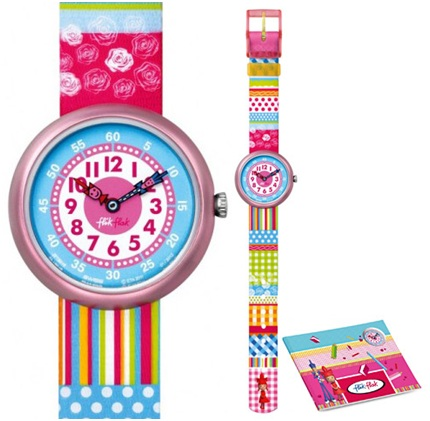 Flik Flak Learn With Me girl, la montre pédagogique