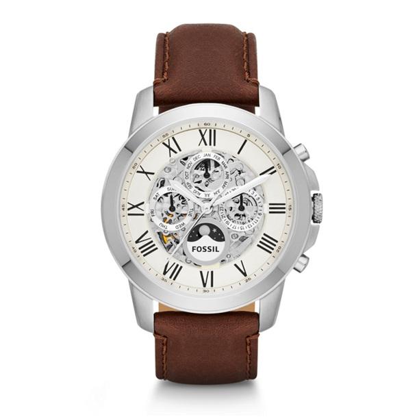 La montre Grant automatique de Fossil