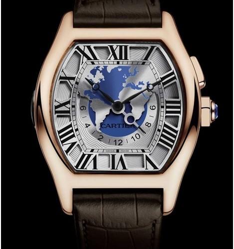 La montre Tortue Multifuseaux de Cartier pour les hommes d'affaires