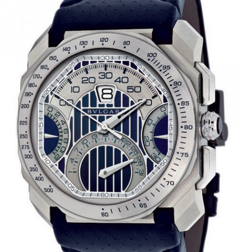 Octo Maserati : un chronographe signé Bulgari et Maserati