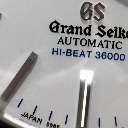 Grand Seiko Hi-Beat 36000 : la perfection au poignet