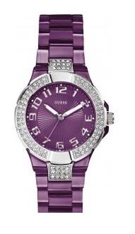 Montre Guess femme violette Mini Prism W11611L3