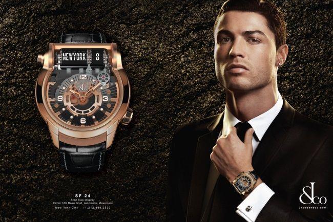 ronaldo montre