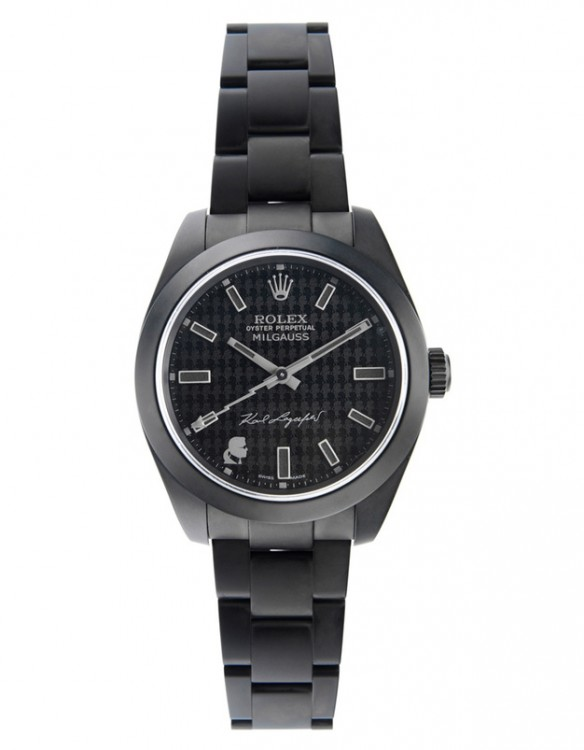 Karl Lagarfeld Rolex Oyster Perpetual Milgauss
