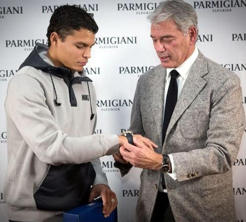 Thiago Silva Parmigiani Fleurier Pershing CBF