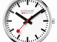 Mondaine stop2go rouge