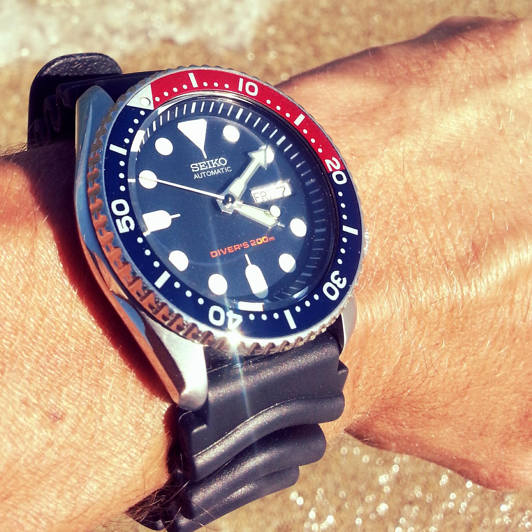 39dfe9d03a Avis Seiko SKX009 la montre de plongée idéale ?